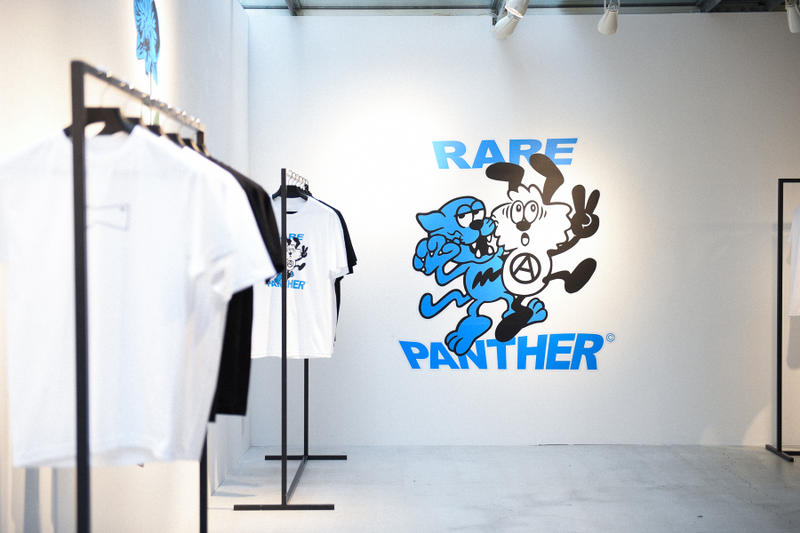Rare Panther VERDY Paulo Calle Reginald Sylvester II Pop Up Collaboration HYPEBEAST