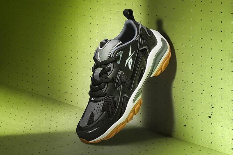 Reebok DMX SERIES 1200 1600 Sneaker Black White HYPEBEAST
