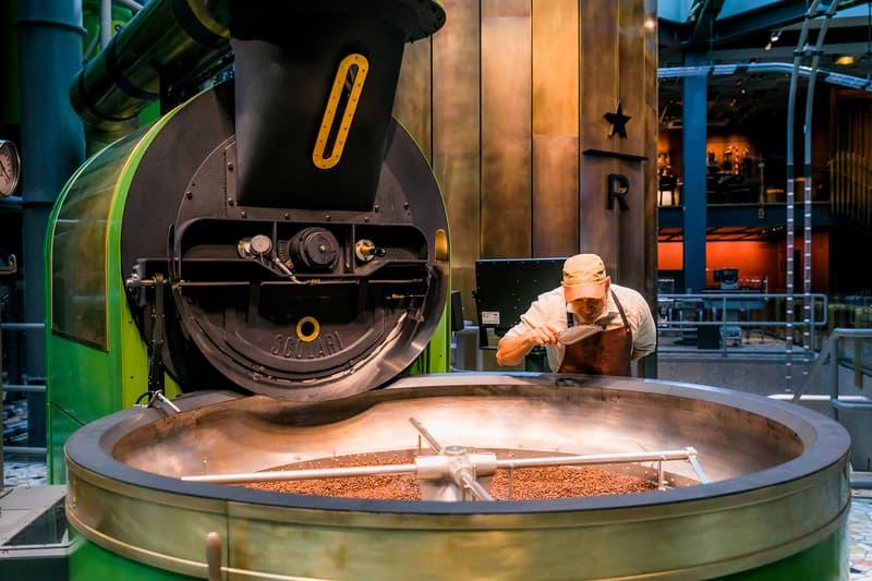 Starbucks Opens Reserve Roastery in Milan Caffeine coffee Italian Starbucks Seattle Beans Barista Americano Latte  Cappuccino Scolari coffee roaster affogato cordusio new drink HYPEBEAST