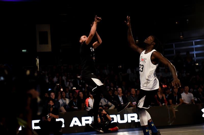 NBA 屈指のスター選手 ステフィン・カリーが来日スペシャルイベントを開催 Stephen Curry アンダーアーマー Under Armour