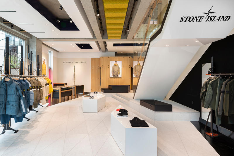 Stone Island Tokyo Store Flagship Minami-Aoyama Japan Retail Shadow Project Architecture look inside around