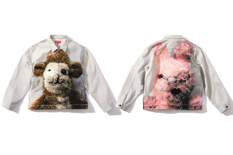 Supreme Mike Kelley Trademark Hooded Sweatshirt Tee Tshirt Jacket Leather