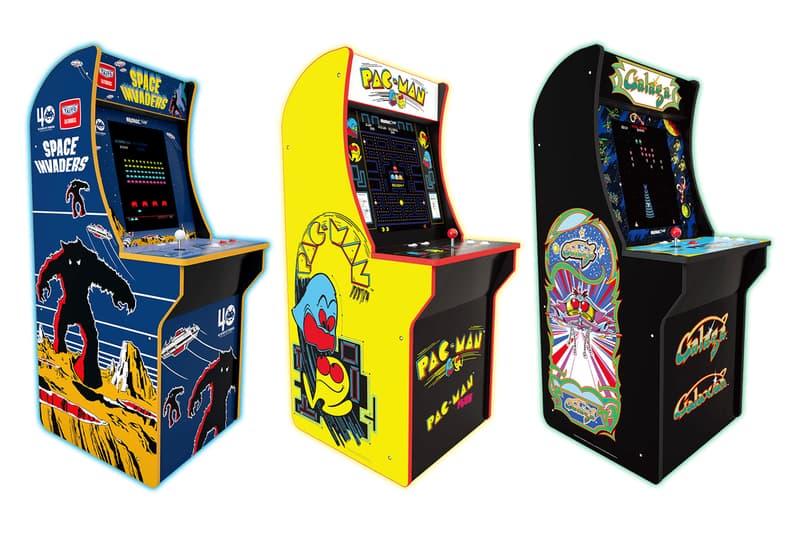 名作の アーケード 筐体を スケール ダ ウン した家庭用 ゲーム 機 アーケード ARCADE1UP が発売へ  インベーダー パックマン ギャラが HYPEBEAST ハイプビースト