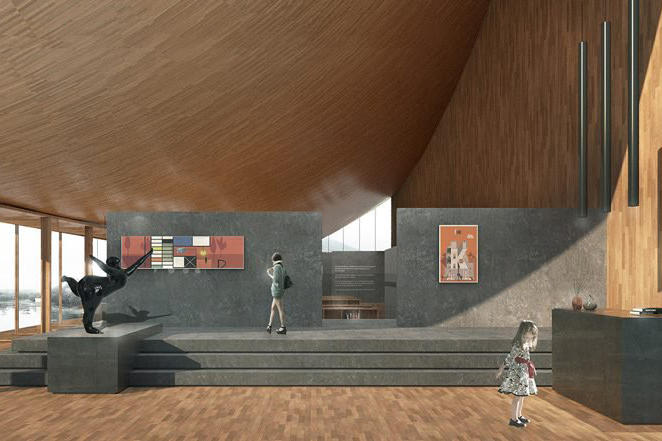 MUDA-architects architecture china book store design art