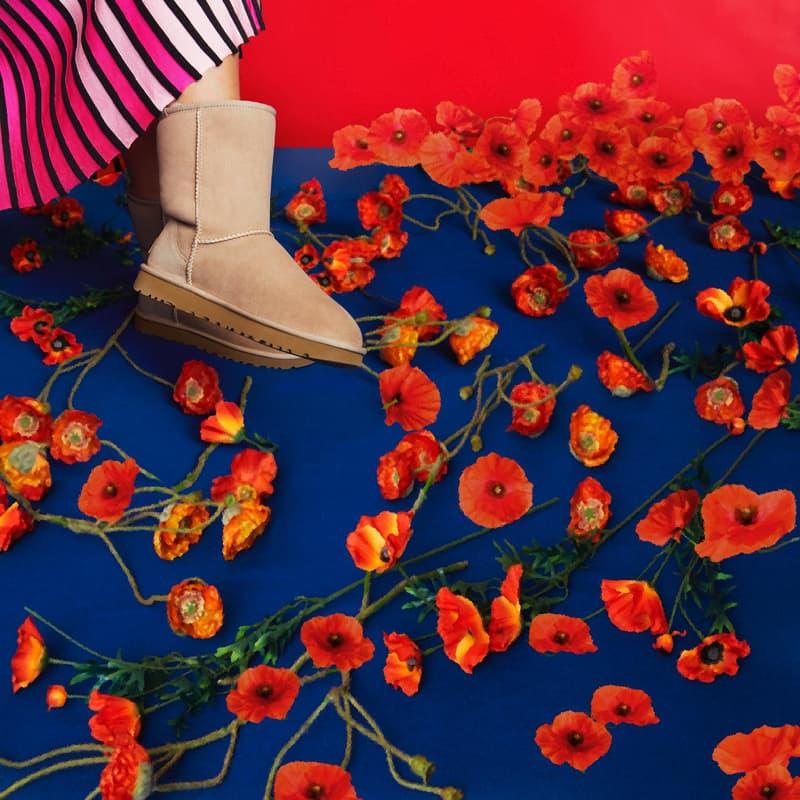 """UGG がブランド生誕40周年を祝すグローバルキャンペーン """"UGG: 40 Years"""" を始動 モデル界の""""It Girl""""アジョア・アボアーと人気急上昇中の実力派デザイナーのヘロン・プレストンがキャンペーンビジュアルに登場 UGG® アグ 3.1 Phillip Lim 3.1 フィリップ リム 西海岸 UGG: 40 Years 10月3日(水) ブランドアンバサダー Adwoa Aboah アジョワ・アボワー Kanye West カニエ・ウェスト Virgil Abloh ヴァージル・アブロー Heron Preston ヘロン・プレストン Erik Madigan Heck エリック・マディガン・ヘック ポピー Ansley アンスレー Neumel ニューメル Tasman Ⅱ タスマン サンド 1978足 25,000円 HYPEBEAST ハイプビースト"""