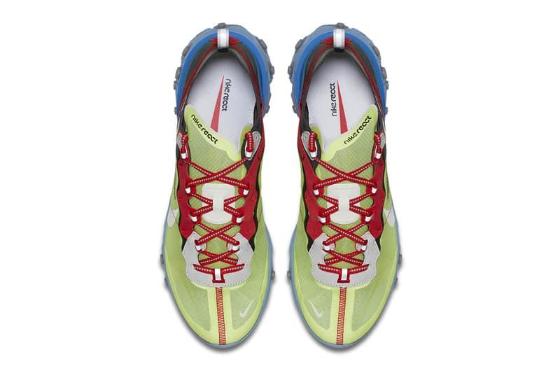 Nike x UNDERCOVER による最新コラボ React Element 87 の公式ビジュアルが到着 ナイキ アンダーカバー リアクト エレメント