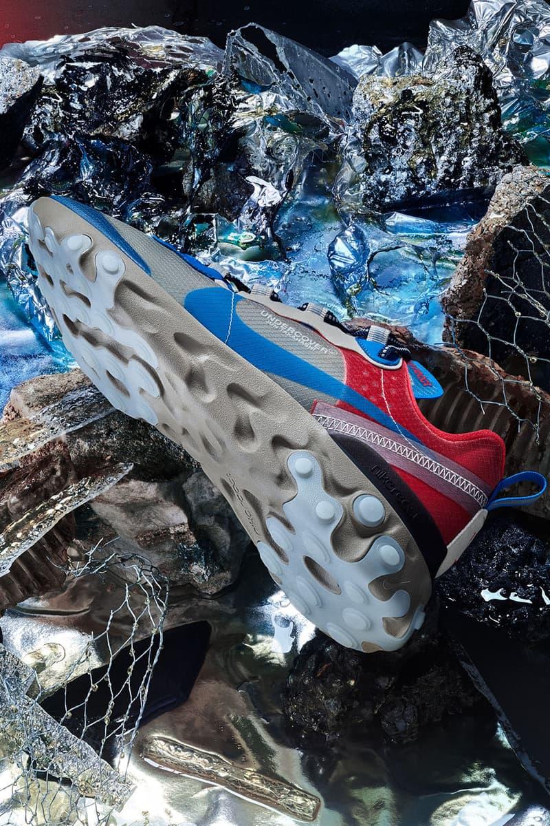 Nike x UNDERCOVER による最新コラボシューズ React Element 87 の国内リリース情報が遂に解禁 アンダーカバー ナイキ スニーカー リアクト エレメント 87 HYPEBEAST ハイプビースト
