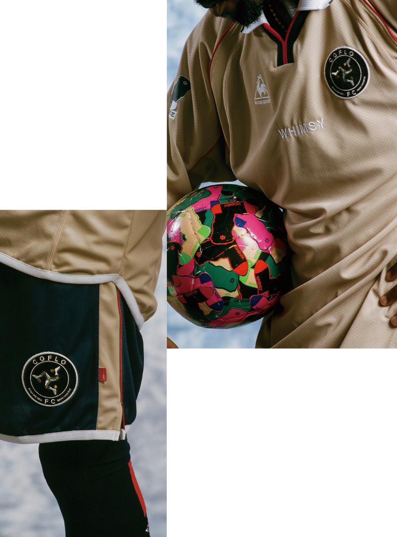 Whimsy x le coq sportif soccer football jersey uniform HYPEBEAST socks