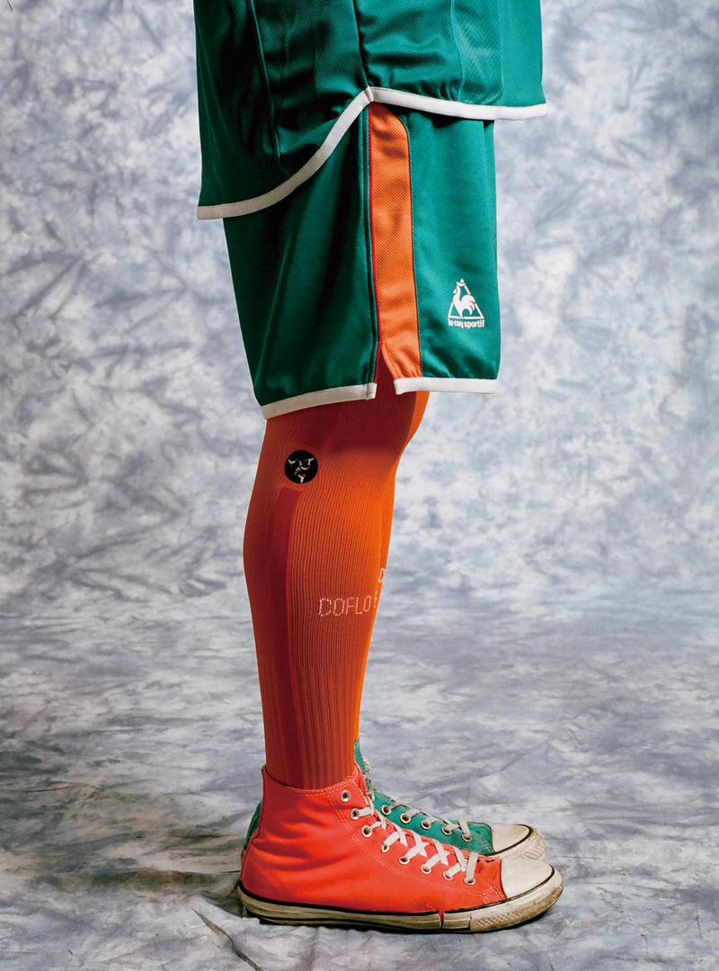 Whimsy x le coq sportif soccer football jersey uniform HYPEBEAST socks
