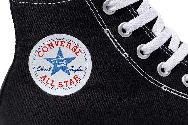 XLARGE Converse Chuck Taylor All Star Black collaborations release info sneakers HYPEBEAST