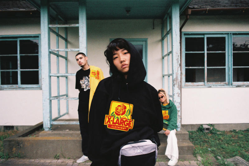 XLARGE Felt For Every Living Thing Kristian Acosta Hoodie Tee Tshirt Bag Collaboration HYPEBEAST
