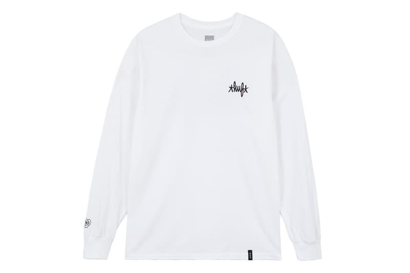 huf niigata eric haze collaboration opening hoodie parka tee tshirt HYPEBEAST