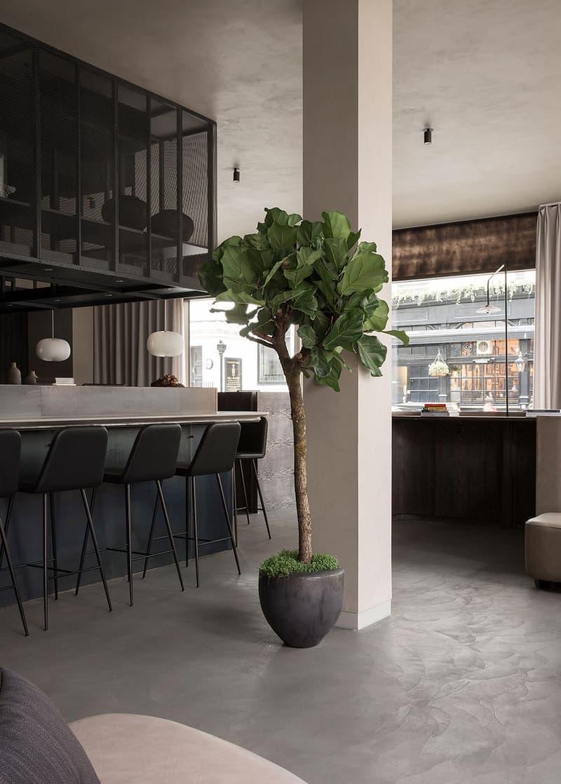 Sticks'n'Sushi  イギリス ロンドン デンマーク 寿司 焼き鳥 建築 デザイン レストラン