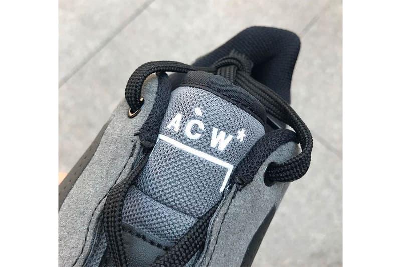 A-COLD-WALL* x Nike による更なるコラボ Air Force 1 のビジュアルとリリース情報が急浮上 コールドウォール ナイキ エアフォース1 HYPEBEAST ハイプビースト