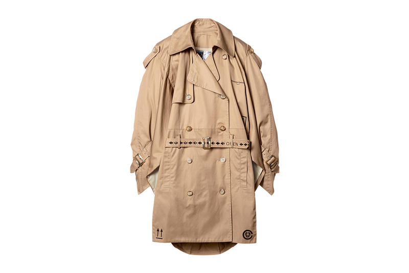 Amazon fashion week tokyo spring summer 2019 october 15 2018 drop release date info skoloct christian dada bed jw ford ANREALAGE Lautashi n.hoolywood trench coat tee shirt print graphic box cardigan collaboration jacket pullover hoodie HYPEBEAST ハイプビースト