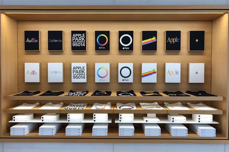Apple の本社内施設にてレトロなアーカイブデザインを採用した限定Tシャツが販売開始 アップル HYPEBEAST ハイプビースト