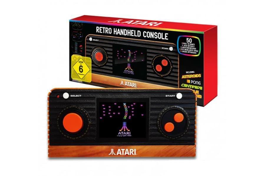 Atari 2600 を携帯仕様で復刻した Atariポータブルの国内販売が決定