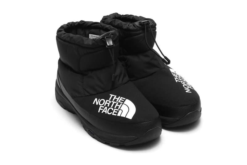 ノースフェイス atmos アトモス north face ヌプシ ブーティー ビッグロゴ ダウン ブーツ nuptse bootie down atmos lab アトモスラボ