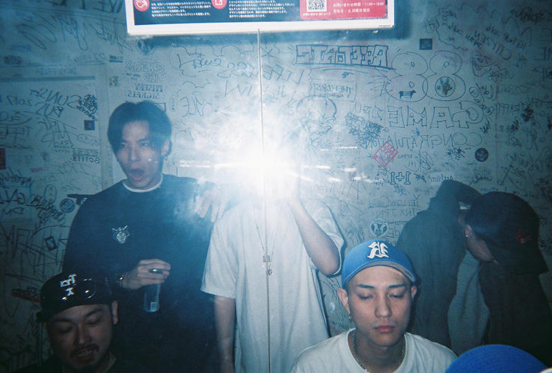 唾奇 渋谷 Pitch Odd Mansion RAFAERO TOUR 2018 渋谷 the game  HYPEBEAST ハイプビースト フィルムカメラ