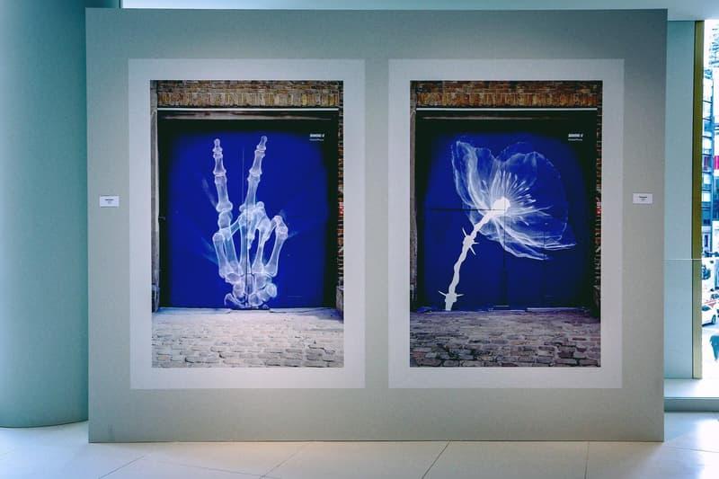"""世界各地の壁画アートが一堂に会した SHOK-1 国内初となる個展 """"Street X-Rays"""" に潜入 普段顔出しNGのSHOK-1もX線アートをプリントした限定マスク姿で登場"""