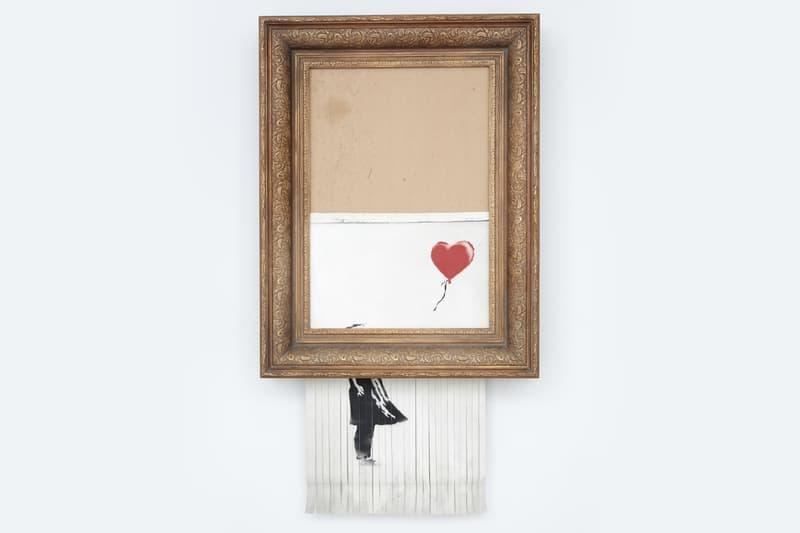 Banksy バンクシー シュレッダー フェイク