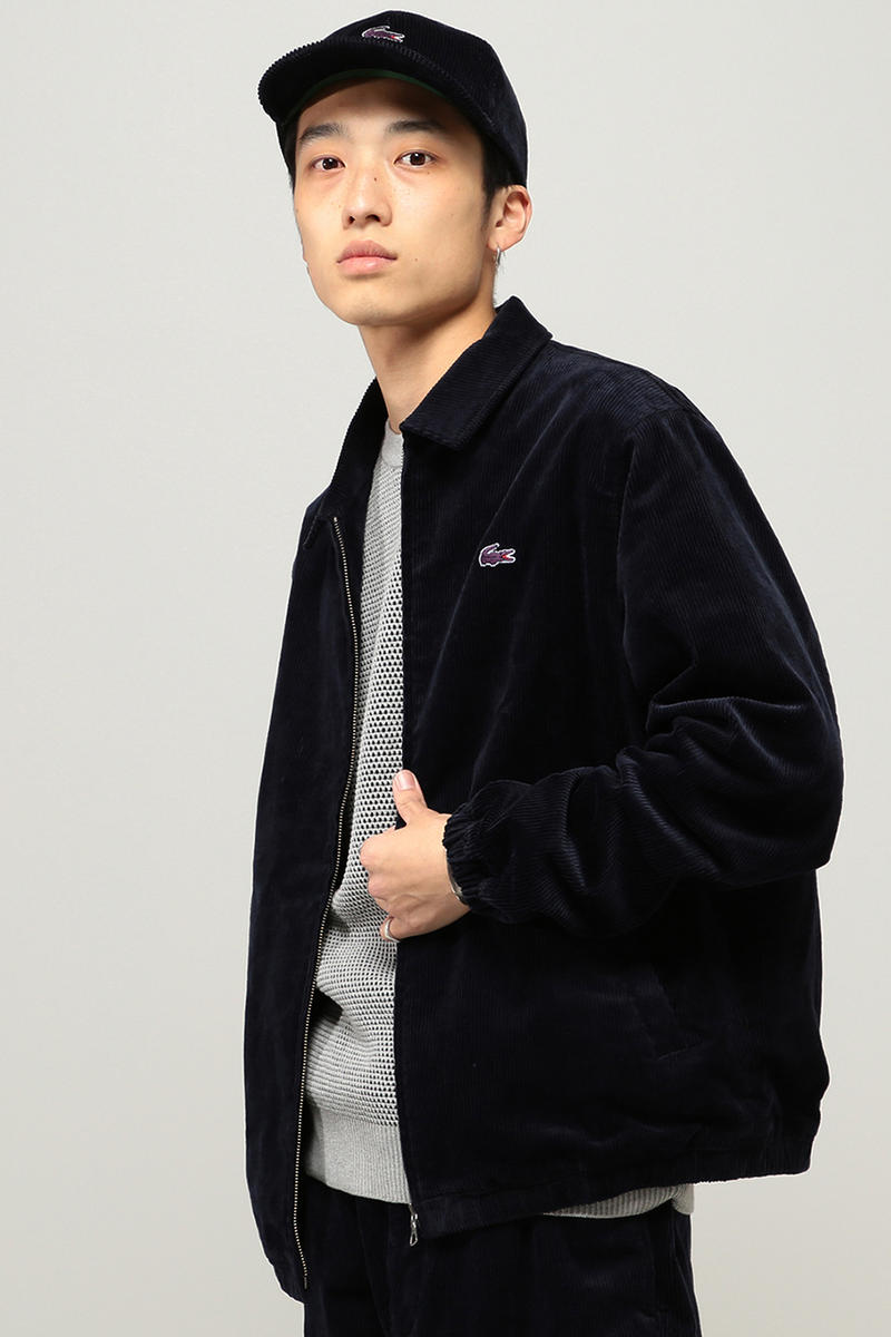 Lacoste Beams Fall/Winter 2018 Collection Fashion Clothing Garments Cop Purchase Buy Lookbook Available Online Webstore HYPEBEAST Jacket Pants corduroy Tee T Shirts Rugby