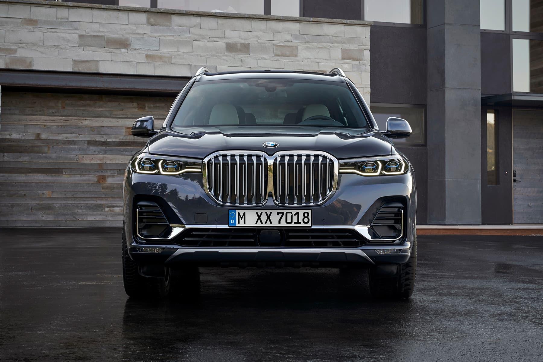 BMW が武骨さとラグジュアリーさを兼備するブランド史上最大の超大型SUVモデル X7 を発表