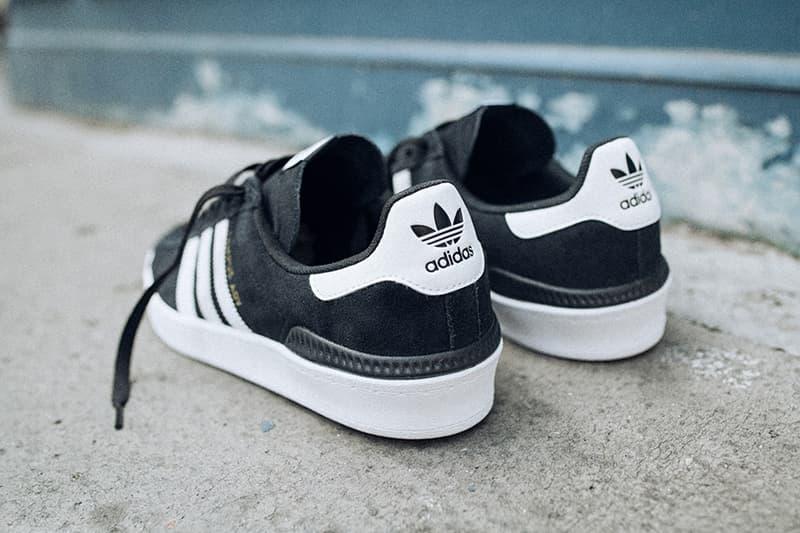 adidas Skateboarding Campus ADV black grey red Sneaker HYPEBEAST