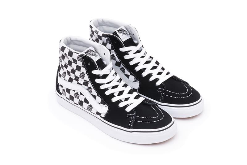Dover Street Market Vans Old Skool Vans Sk8-Hi Dover Street Market Ginza Online Size  Black White Collaboration Sneaker HYPEBEAST