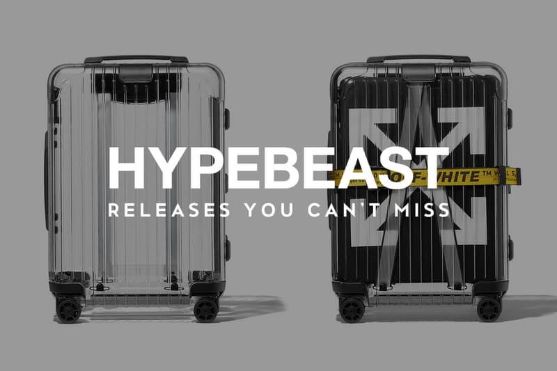 〈Off-White™〉x「RIMOWA」の第2弾コラボや『UNDEFEATED』x〈BAPE®〉x〈Timberland〉の超豪華トリプルネームなど今週も注目のコラボアイテムが続々とリリース HYPEBEAST ハイプビースト