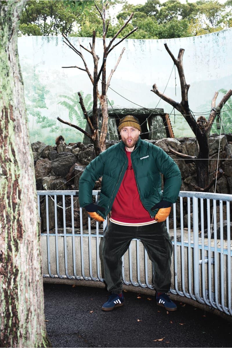 Evisen Skateboards Supreme Palace Prov BEAMS Hoodie Jacket Fleece Pants 2018 Fall Winter Lookbook HYPEBEAST