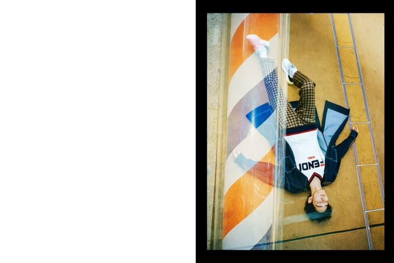 """上杉柊平が """"FENDI MANIA"""" を纏い新宿歌舞伎町を闊歩 『HYPEBEAST』が推薦するクリエイターと〈FENDI〉が世に放つ最新カプセルによるコラボファッションストーリー第1弾を公開"""