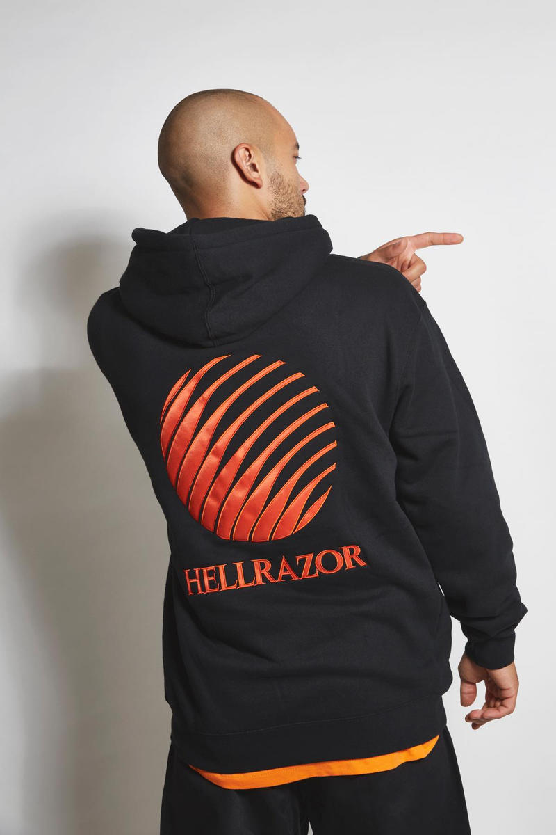 Hellrazor ヘルレイザー 2018年秋冬 ルックブック Wavey Store