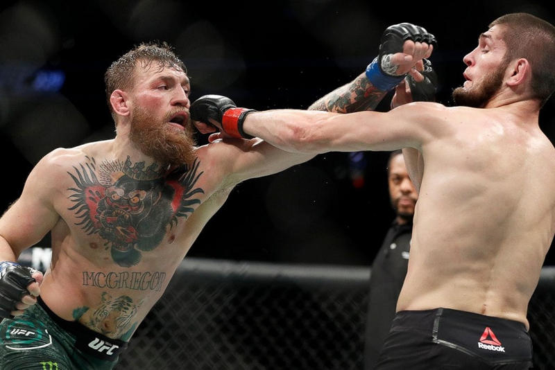 Conor McGregor Wants Khabib Nurmagomedov Rematch 2018 october ufc fight battle