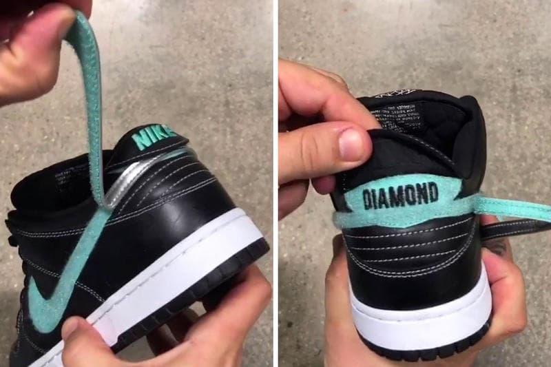 """Nike SB を語る上で避けては通れない Dunk """"Tiffany"""" が """"Black Diamond"""" として13年振りに復活 ナイキ ダンク ティファニー ブラックダイアモンド スケート HYPEBEAST ハイプビースト"""