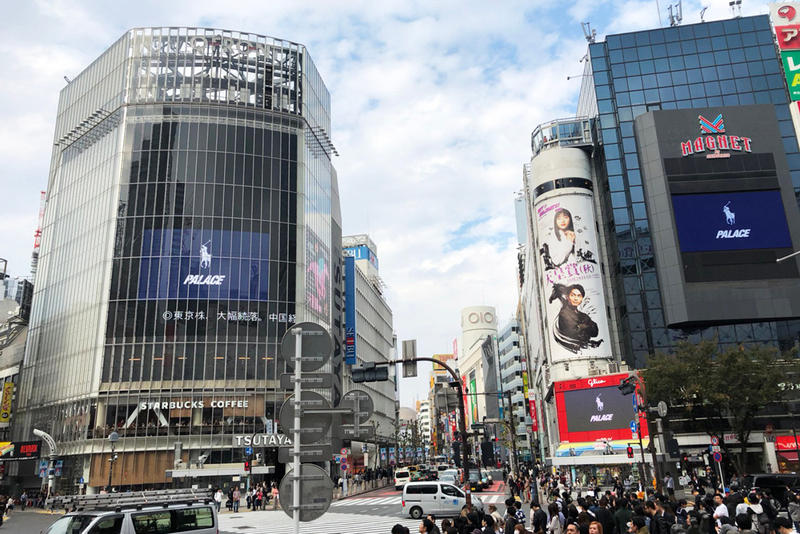 PALACE Polo Ralph Lauren パレス ポロ ラルフ ローレンコラボレーション 渋谷 スクランブル 交差点