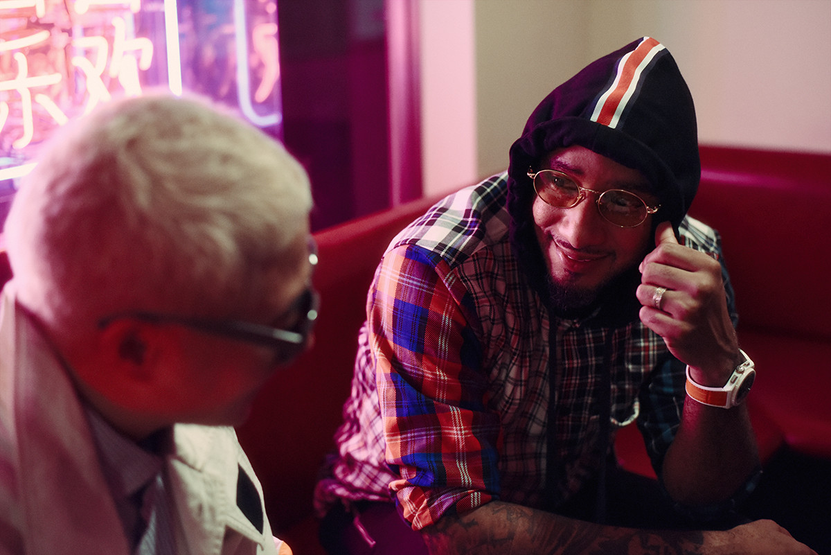 Swizz Beatz VERBAL バーバル ヒップホップ Bally バリー 対談 インタビュー ファッション アート