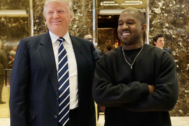 カニエ・ウェスト  ドナルド・トランプ 大統領 シカゴ Kanye West Expected Visit Donald Trump The White House Kim Kardashian President United States of America Washington, D.C. HYPEBEAST