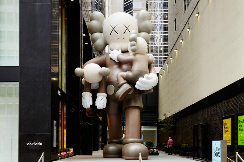 1億円超えの落札価格が見込まれる KAWS 作品がオークションに登場 カウズ HYPEBEAST ハイプビースト アート スカルプチャー