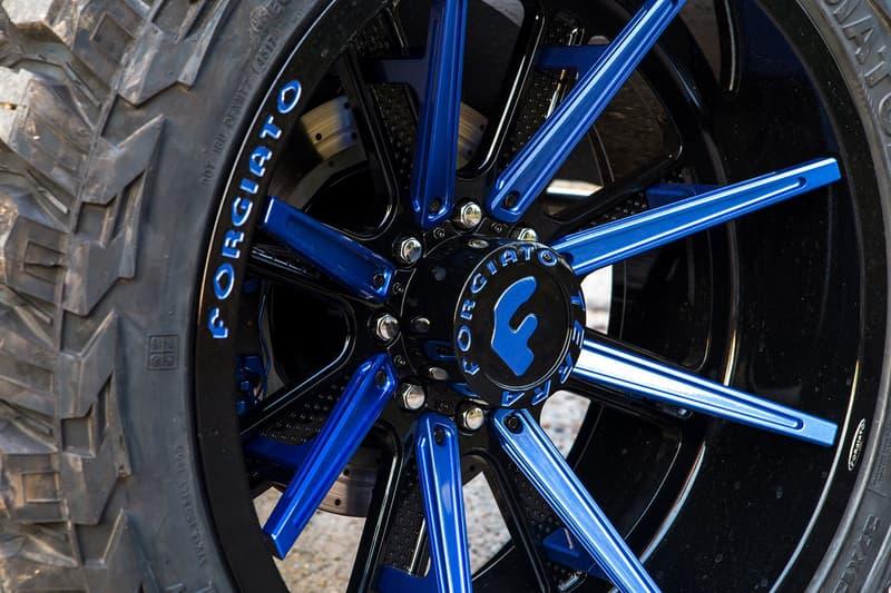 メルセデス・ベンツ G クラス Mercedes-Benz G550 4×4² Lil Baby リル・ベイビー カスタム ブルー ブラック ホイール クルマ