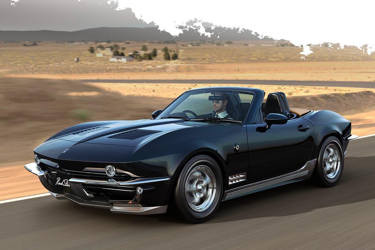 光岡自動車が1960年代のアメ車を彷彿とさせる新型車両 Rock Star を発表