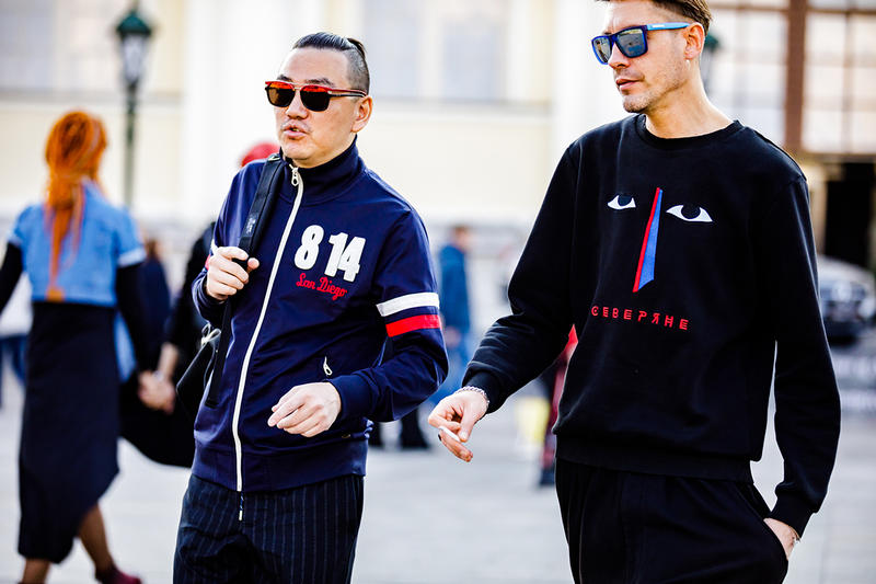 moscow fashion week spring summer 2019 street snaps style runway candid photo HYPEBEAST ハイプビースト