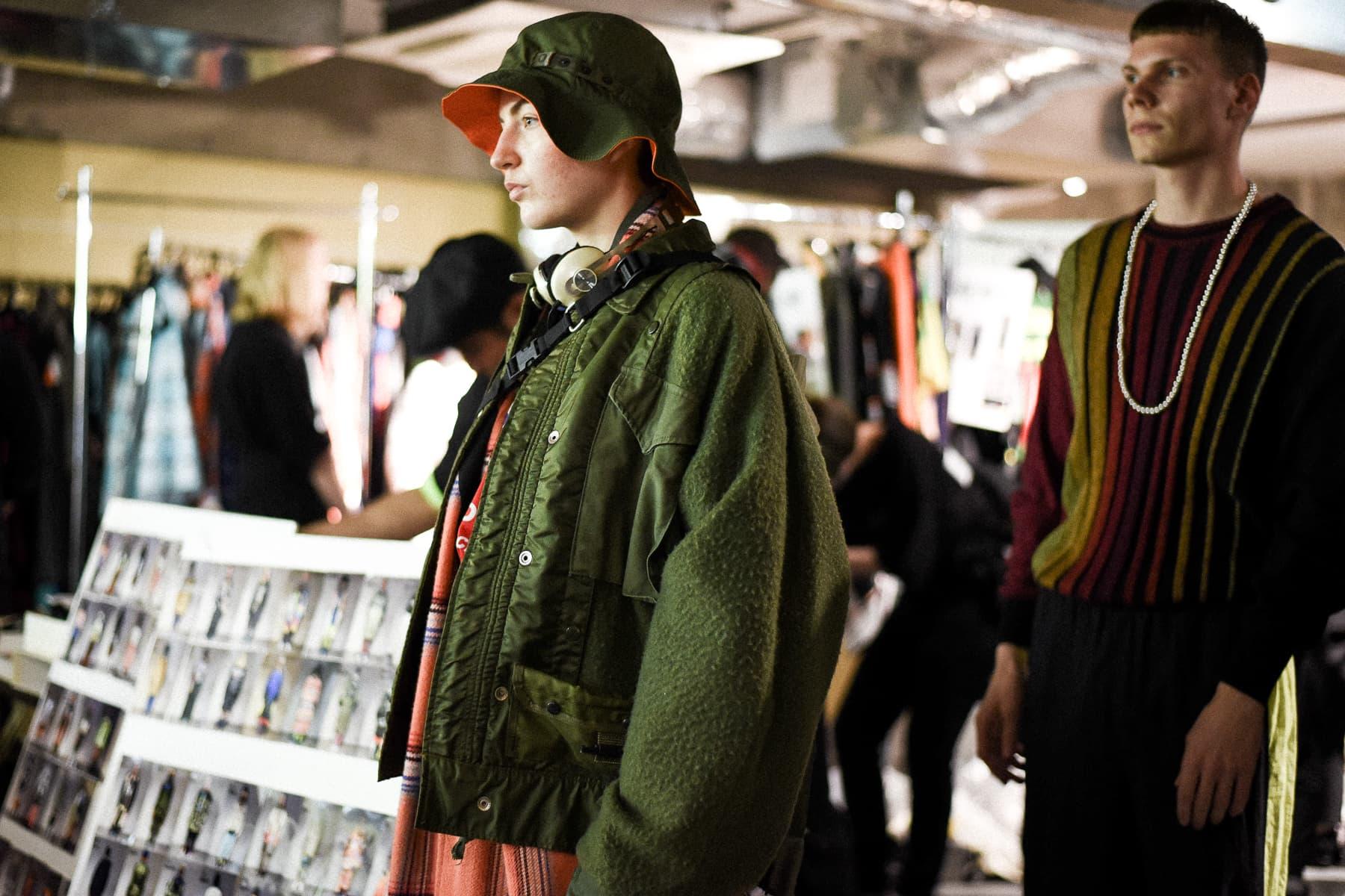8年ぶりに東京凱旋を果たした N.HOOLYWOOD 2019年春夏ランウェイのバックステージに潜入