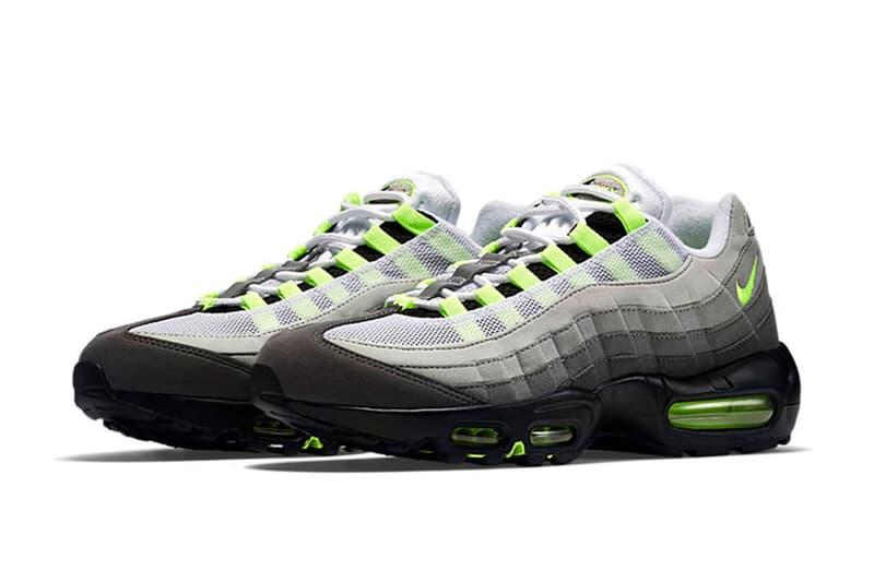 "Nike Air Max 95 OG ""Neon"" が ABC-MART GRAND STAGE 銀座店にて再販決定 今年2月に買い逃した日本のスニーカーヘッズに『ABC-MART』よりサプライズプレゼント"