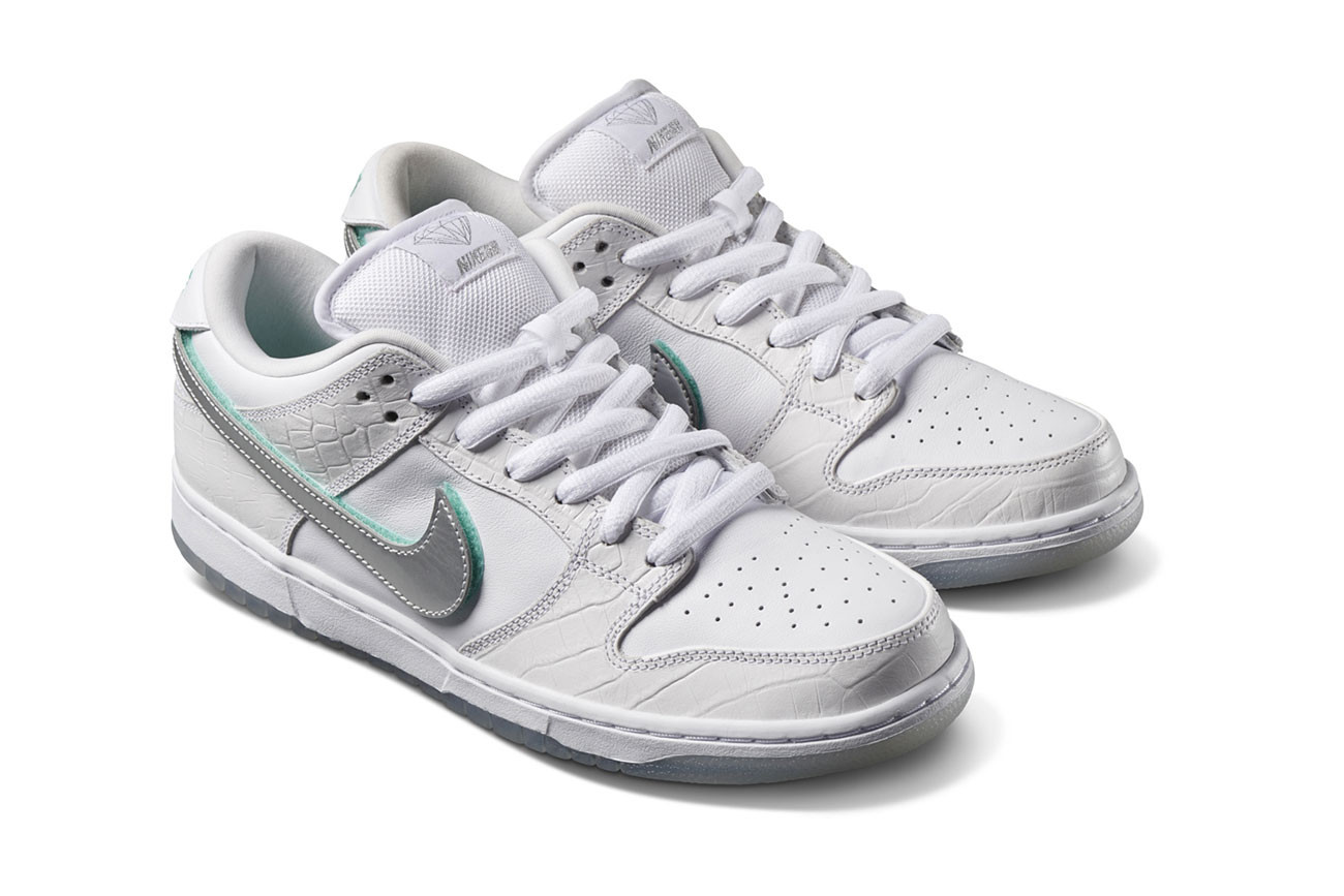 Nike x Diamond Supply Co.によるコラボDunkの