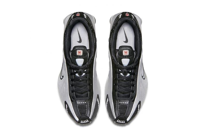 Dover Street Market Ginza nike nikelab shox r4 black silver red sneaker HYPEBEAST