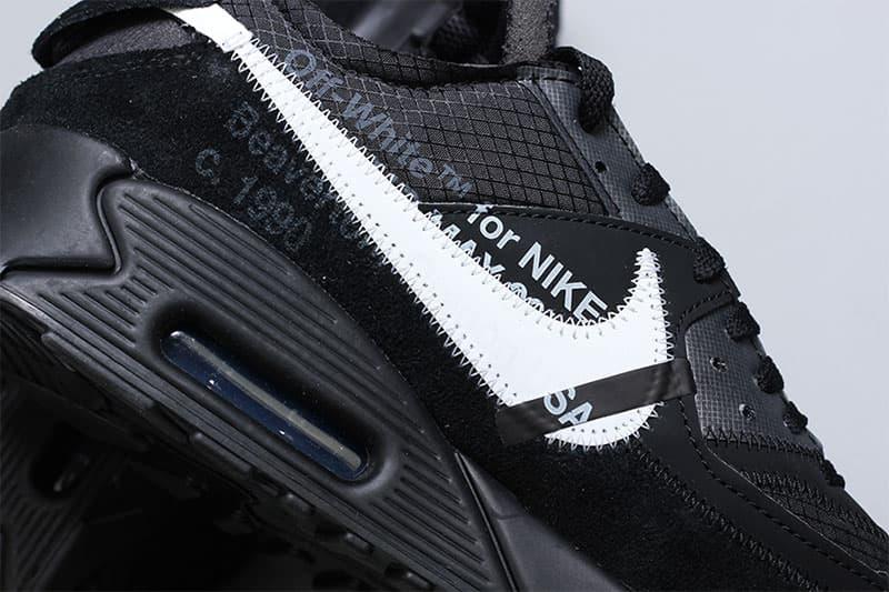 Off-White™️ x  Nike より初見となるオールブラック仕様の Air Max 90 が急浮上 オフホワイト ナイキ エアマックス HYPEBEAST ハイプビースト