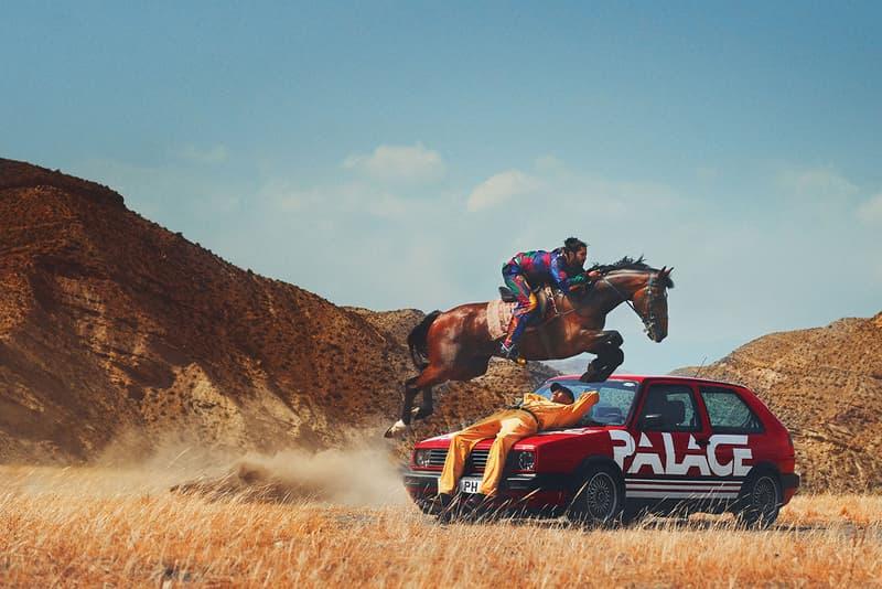 Palace x Polo Ralph Lauren パレス ポロ ラルフローレン コラボ ルックブック