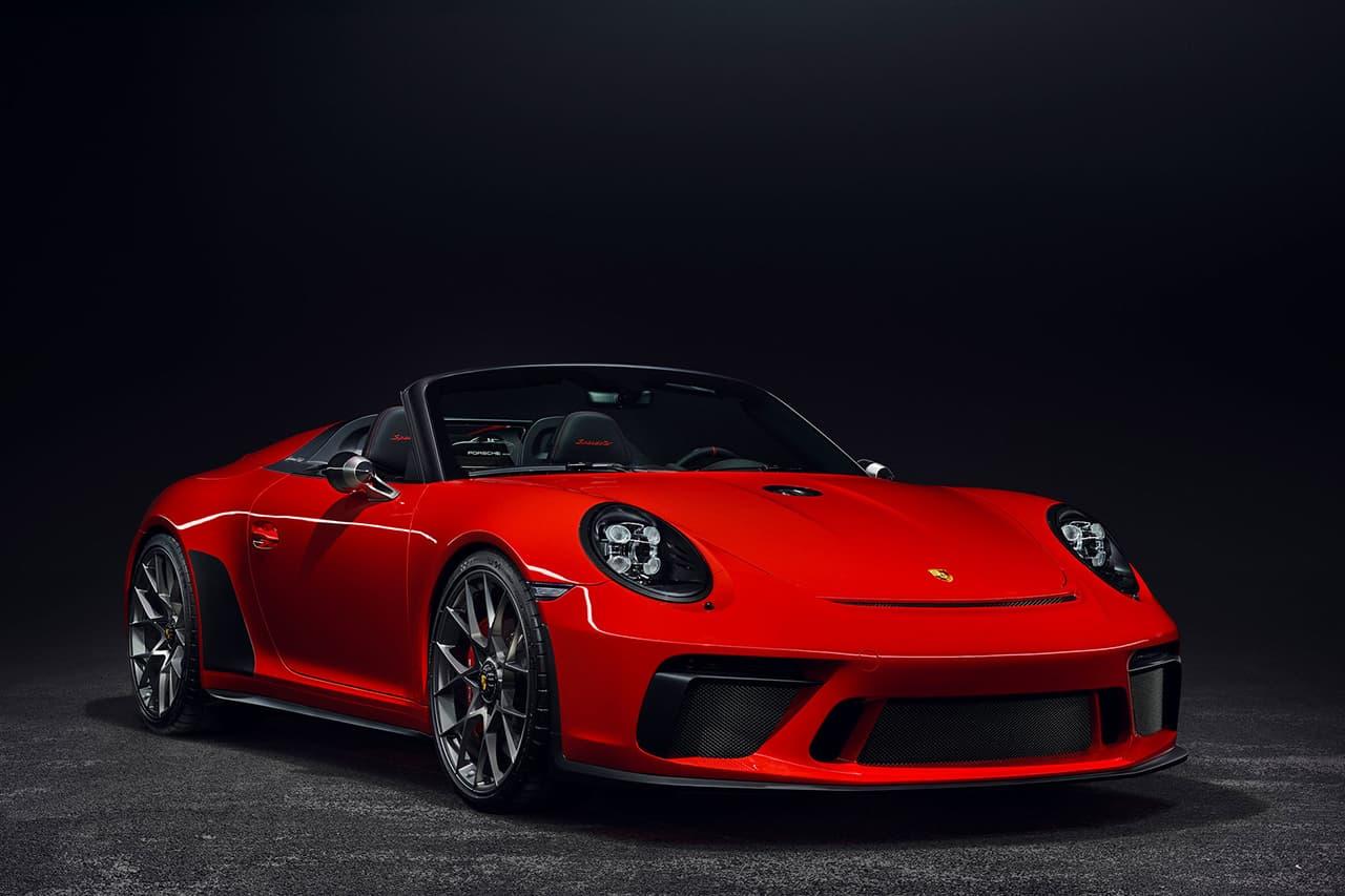 Porsche 創業70周年を記念するコンセプトカー 911 Speedster Concept の市販化が確定