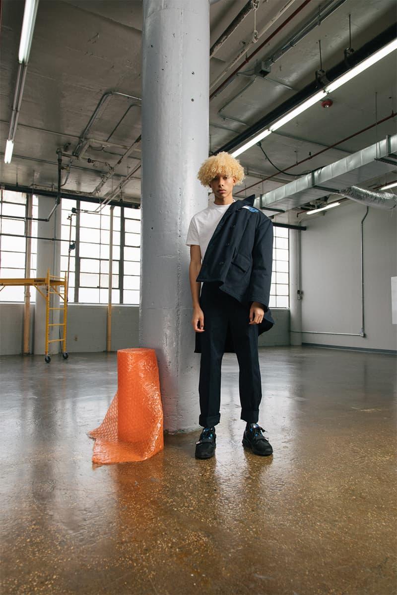 スニーカーブームに一石を投じる Prada Mechano の最新エディトリアルが到着 オランダの建築設計事務所「OMA」による新ロゴと伝統を受け継ぐ三角ロゴが同居したスタイルサンプルを今すぐチェック HYPEBEAST ハイプビースト